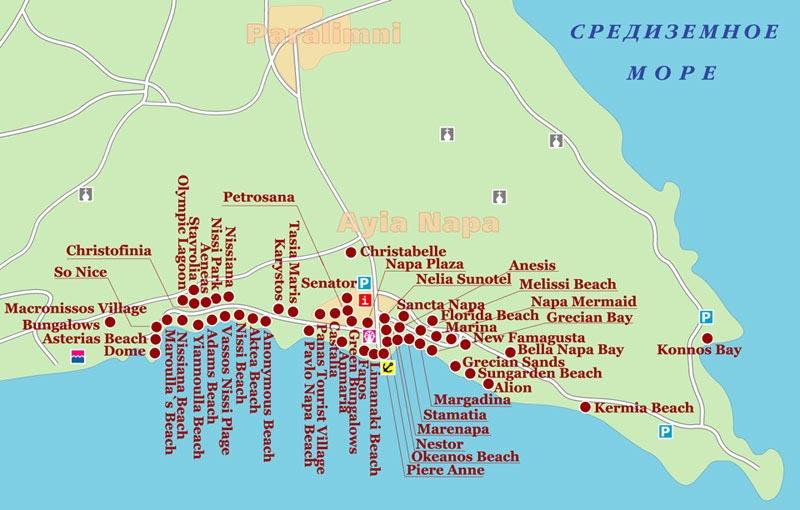 скачать карта кипра - фото 11
